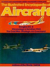 IEA 167 SAC BOMBERS B-47 STRATOJET NORTHROP XB-35 USAF / DOUGLAS DC-8 / VARIG