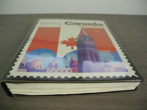 CANADA, NEWFOUNDLAND, Excellent Stamp Collection hinged in a Scott album