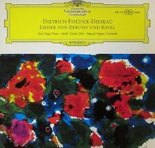 Debussy/Ravel(Vinyl LP)Dietrich Fischer-Dieskau recital-UK-138 1