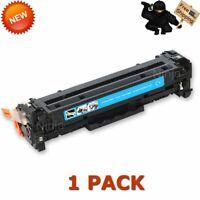 1PK CE411A Cyan Toner For HP 305A LaserJet Pro 400 Color M451dn M451nw M475dw