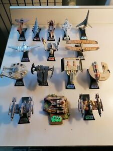 STAR WARS TITANIUM SERIES DIE CAST - 15 PEZZI
