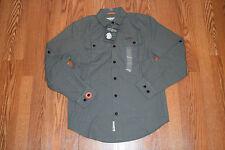 NWT Mens FIELD & STREAM Ironstone Brushed Cotton Poplin Long Slv Shirt 2XL $70