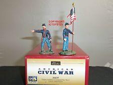BRITAINS 31137 AMERICAN CIVIL WAR UNION ARTILLERY TOY SOLDIER FIGURE COMMAND SET