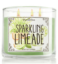 Bath & Body Works Sparkling Limeade Three Wick 14.5 Ounces Scented Candle