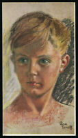 1940's Germany 3rd Reich Picture Postcard Cover German Hitler Era Youth Boy