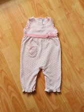Next 3-6 Months Baby Girl Dotted Romper Playsuit Euc