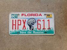 "FLORIDA - ""SAVE THE MANATEE"" -  LICENSE PLATE"