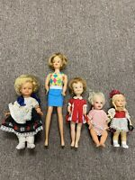 Antique Doll Collection Bargain Priced Assortment Hong Kong German USA 1960's