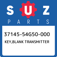 37145-54G50-000 Suzuki Key,blank transmitter 3714554G50000, New Genuine OEM Part