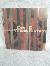 FINAL FANTASY DAIZENSHU 1 Guide FF I - VI Art Material AMANO Book DC*