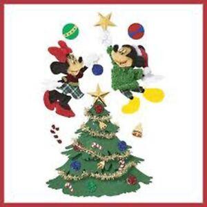 Jolee's Boutique Mickey & Minnie Christmas Tree 3d Stickers - DJBM007 FREE POST