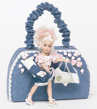 New Doll Maker Handbag Bella Blonde Haired Key To My Heart By Linda Rick Doll