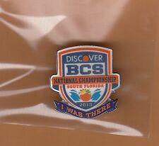 OFFICIAL 2013 BCS CHAMPIONSHIP GAME SITE PIN NOTRE DAME IRISH ALABAMA TIDE