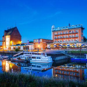 3 Tage Kurzurlaub an der Elbe, Travdo Hotel, Dömitzer Hafen, Urlaub, 2 Pers.,