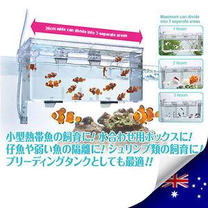 Aquarium External Hang-on Multi-functional Divider Tank for Fish & Shrimps