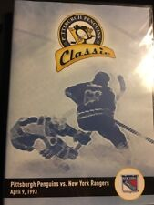 Pittsburgh Penguins Classic: Penguins vs New York Rangers April 9, 1993