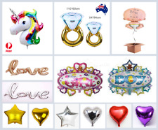 Star/Heart/Love/Baby Foil Balloons Air/Helium Wedding Birthday Party Decoration