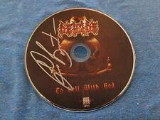 Glen Benton DEICIDE Signed Autographed CD h