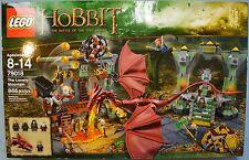 LEGO Hobbit THE LONELY MOUNTAIN 79018 Desolation of SMAUG Dragon NEW SEALED