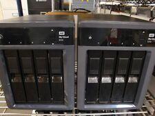 Western Digital MyCloud EX4 8TB  4 Bay NAS Storage W QTY 2 NEW RED NAS 4TB  Drs