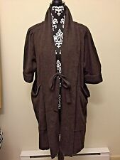 MARC BY MARC JACOBS Coat Jacket Brown Wool Swing Size XS/S