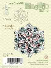 Leane Creatief-Doodle chiaro TIMBRO-STAR 1 - 0140-NATALE-NUOVO FUORI