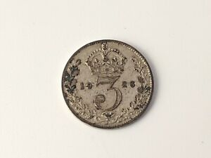 1926 Silver Threepence George V Low Mintage Free UK P&P