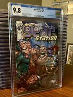 The Gear Station Wizard 1/2 Image Comics Comic w/COA CGC 9.8