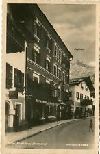 Austria Lofer Salzburg - Hotel Brau old real photo sepia postcard