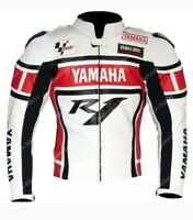 New Customized Yamaha Motorbike Motorcycle Biker Racing Leather Jacket
