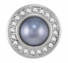 GINGER SNAPS™ GREY MISS PEARL  Jewelry - BUY 4, GET 5TH $6.95 SNAP FREE