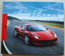Prospectus relié Ferrari 458 Italia 2009