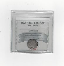 **1834** USA, Half Dime 5 Cent, Silver