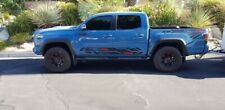Set of 2: TRD PRO bedside  And Doors. vinyl decals for 2016-2019 Toyota Tacoma