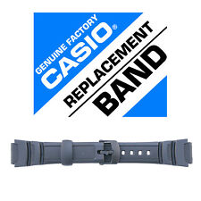 Casio 10360831 Genuine Factory Resin Band, Fits W-S200H-1AV and others
