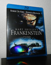 MARY SHELLEY'S  FRANKENSTEIN  blu ray / region FREE / robert de niro / branagh