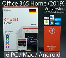 Microsft Office 365 Home Vollversion für Windows und MAC OS (6GQ-01054)
