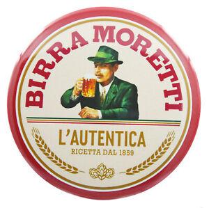 Big Birra Moretti Beer Fridge Magnet (3 Inch/ 76mm)