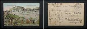 Postcard German - South West Africa Good Condition Landscape At Spitzkopje