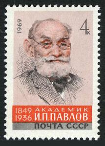 Russia 3649, MNH. Ivan Petrovich Pavlov, Physiologist, 1969