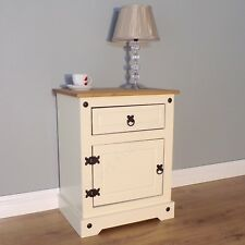 Mercers Furniture® Corona Painted Pot Cupboard Bedside