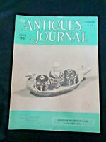 Antiques Journal 1953 Majolica Faience Ware Dresden China Dauphin Buttons Fans