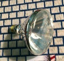 4 NEW 12,000 hour 150w FLOOD PAR38 /o light bulb BR38 incandescent 120v outdoor
