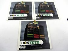 3 Lot DVD Music of DONYUTE Boobilous album sampler mixtape