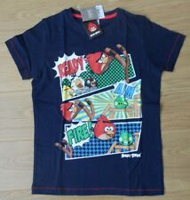 Brand New boys NEXT Navy Angry Birds t-shirt top size 10 years 100% cotton