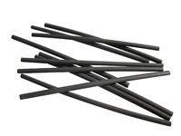 2 Meter Schrumpfschlauch schwarz 2,4 mm auf 1,2 mm ideal für dünne Litze + LEDs
