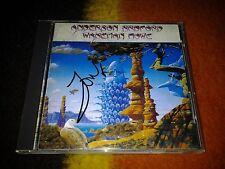 Anderson Bruford Wakeman Howe Japan CD  Signed Jon Anderson
