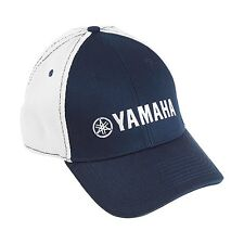 Yamaha Pure Contrast Hat in Navy/White - One Size - Genuine Yamaha - New