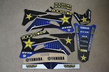 TEAM  ROCKSTAR GRAPHICS YAMAHA YZ250F YZ450F YZF YZF250 YZF450 2006 2007 2008 09