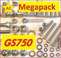 Suzuki GS750 - Screw / Nut / Washer / Fastener Stainless Grade A2 MegaPack